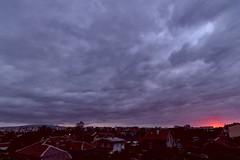 When the earth explodes (nickneykov) Tags: nikond750 irix15mm sofia bulgaria twilight clouds sunset