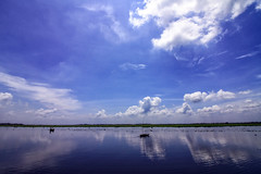 Bangladesh <3 (shah_jaman) Tags: landscapes color reflection onriver cloudysky wide outdoor naturephotography nightlight bangladesh beautifulbangladesh beautyofnature jamansphotography