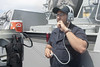 170721-N-ZS023-0035 (SurfaceWarriors) Tags: ussamericalha6 sailors shipsbridge standingwatch seaman forwardlookout 1mc logbook boatswainsmate pacificocean