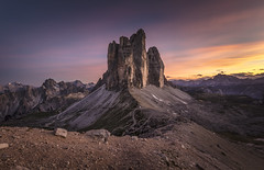 Dolomites: Burning Sky (Frederic Huber | Photography) Tags: 1124 1635 2470 70200 landschaft altoadige canoneos5dsr dolomiten dolomites dreizinnen eos fotodiox frederichuber freearc italia italien italy lagodibraies landscape leefilters photography pragserwildsee seceda seiseralm southtyrol sunrise sunset sã¼dtirol wonderpana wwwfrederichubercom