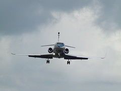 N232SF Dassault Falcon 900DX  Dynamic Aviation Service (Aircaft @ Gloucestershire Airport By James) Tags: gloucestershire airport n232sf dassault falcon 900dx dynamic aviation service bizjet egbj james lloyds