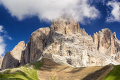 Sassolungo (cesco.pb) Tags: dolomiten dolomiti dolomites valdifassa sassolungo colrodella trentino italia italy alps alpi montagna mountains