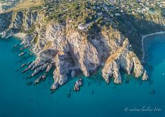 Capo Vaticano2 (a.landini1969) Tags: blue italy calabria skylab capovaticano water above mavicpro italia acqua blu spettacolo dji sea mare