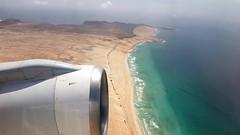 Goodbye Boa Vista Island (edowds) Tags: goodbye boavista island capeverde boeing 757 engine beach waves atlantic ocean sea sand flying holiday vacation july 2017 scenery aeroplane airplane aircraft