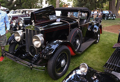 1928 Franklin (faasdant) Tags: 45th annual forest grove concours delegance 2017 pacific university campus classic car automobile show exhibition 1928 franklin series 12b airman black red roadster convertible