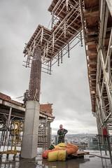 Vancouver BC - Exchange Tower (24) (doublevision_photography) Tags: vancouver vancouvercity vancouverrealestate vancouverbc vancouverskyline vancity vancouvercanada jasocrane constructioncrane vancouverconstruction roofing vancouverroofing contruction towercranephotography flyingtables tableflying