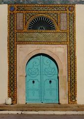 TUNISIA DOOR (patrick555666751) Tags: tunisiadoor tunisia tunisie porte porta puerta north africa blue bleu blau mediterranee mediterranean mediterraneo turen door tuer dwwg mosaique mosaic mosaics mosaiques afrique du nord del norte