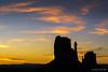 Monument Valley sunrise (NettyA) Tags: 2017 50mmlens arizona monumentvalley navajotribalpark sonya6000 themittens usa westmittenbutte clouds silhouette sky sunrise travel