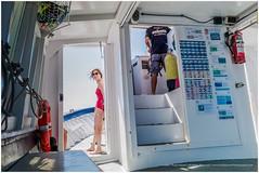 Framed (RudyMareelPhotography) Tags: catalonia costabrava estartit mediterranean mediterraneansea spain blue diving ocean recreation swimming flickrclickx flickr lfi ngc