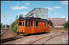 023-2003-08-16-05-Wendeschleife Schkopau (steffenhege) Tags: hallesaale strasenbahn arbeitswagen atw lowa lowawagen 023