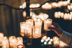 Illuminated (w a n d e r e r ▲) Tags: d610 50f14 lights candles faith pray hand god travel paris montmartre sacrecoeur