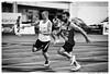 Before You Go (Matías Brëa) Tags: atletismo atleta athlete competition competicion carrera race blancoynegro blackandwhite bnw runner corredor relevos relay