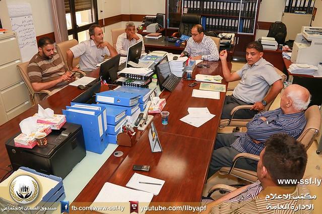 اجتماع فريق التخطيط الاستراتيجي
