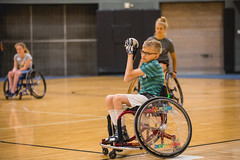 Softball @ Mary Free Bed Wheelchair Sports Camp 2017 (mfbrehab) Tags: mary free bed mfb wheelchair adaptive sports rehab rehabilitation hospital kids camp 2017 grand rapids mi michigan usa gosh valley state university