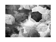 2 (nikita savitsky) Tags: umbrella blackandwhite bw sky festival clouds photography saintpetersburg