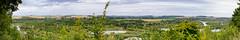Haute vallée de la Somme (CrËOS Photographie) Tags: nature pano panorama panoramic stitched belvédèredevaux somme rivière river arbres trees landscape paysage green vert vaux hautsdefrance picardie scenery