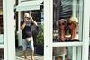 Autorretrato (mavricich) Tags: yo olympus película pinamar reflejo color calle colores street 35sp