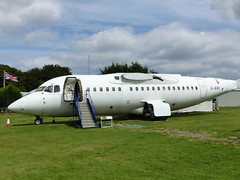 BAe146 G-JEAO (gulfstreamchaser) Tags: gjeao britishaerospace bae 146 hs146 fuselage museum