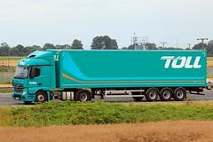 Toll 25th July 2017 (asdofdsa) Tags: hgv haulage transport trucks travel motorway m62 goole langhamjunction rawcliffebridge