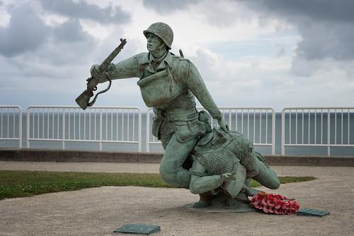 Omaha Beach Memorial, From FlickrPhotos