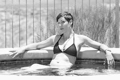 Cat 099_pp bw (Az Skies Photography) Tags: model cathy f cathyf modelcathyf swimwear swimsuit bikini bikinimodel femalemodel female woman vail arizona az vailaz july 1 2017 july12017 712017 7117 canon eos 80d canoneos80d