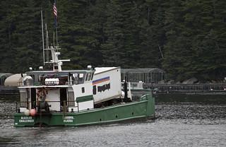 Salmon Hatchery - Freight ShipPrince William Sound Aquaculture Corporation  Cordova Alaska