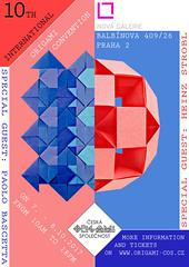 The 10th International Origami Convention in Prague, Czech Republic (Monika Hankova) Tags: origami convention czech republic