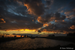 DSC_9062 (Hans Vellekoop) Tags: oostvaarderplassen sunset flevoland