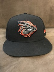 2017 Lehigh Valley IronPigs Alternate Hat (black74diamond) Tags: 2017 lehigh valley ironpigs alternate hat