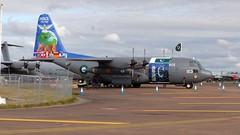 4153 Pakistan C-130 RIAT (ZD703) Tags: 4153 pakistanairforce c130 hercules lockheedhercules c130e fairford riat2017