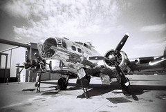 Arizona Commemorative Air Force Museum (kevin dooley) Tags: eximus eximuswideandslim arizona commemorative airforce museum sentimentaljourney film analog ladygray