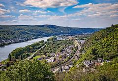 Town of Braubach, Germany (mary_hulett) Tags: vista rivercruise travel river braubach scenic germany tour rhineriver viking europe marksburgcastle viewfromcastle