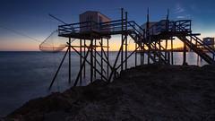 Sunset la Palmyre (TM Photography Vision) Tags: sunsetsonnenuntergangbaselriehenschweiz atlantik atlantique blaue stunde colours