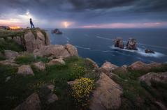 Tormentas de verano (Pablo RG) Tags: cantabria costa cantabrico urros quebrada españao españa nikon naturaleza night tormenta rayos verano paisaje landscape