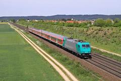 185 616 (René Große) Tags: eisenbahn railway train zug reisezug regionalbahn elok lok lokomotive traxx 185 pölling neumarkt oberpfalz bayern deutschland germany