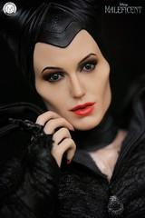 Angelina Jolie as Maleficent (PrinceMatiyo) Tags: onesixthscale hottoys toyphotography maleficent disneyvillain disney angelinajolie