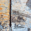 Super Damage (jaxxon) Tags: 2017 d610 nikond610 jaxxon jacksoncarson nikon nikkor lens nikon50mmf28g nikkor50mmf28g 50mmf28 50mm niftyfiftyprime fixed pro abstract abstraction square squared plaster wall texture surface peelingpaint antique decay weathered distressed damage damaged urban scratches