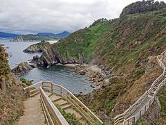 Punta de Fuciño do Porco, O Vicedo (Lugo) (Miguelanxo57) Tags: cabo rocas peñasco paisaje mar cantábrico ría viveiro vicedo lugo galicia nwn