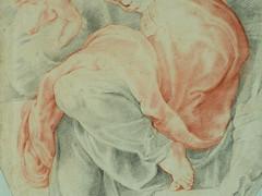 RUBENS (d'Après BUONARROTI Michelangelo) - La Sibylle libyenne, Chapelle Sixtine (drawing, dessin, disegno-Louvre INV20227) - Detail 41 (L'art au présent) Tags: art painter peintre details détail détails detalles painting paintings peinture peintures peinture17e 17thcenturypaintings museum paris france peinturehollandaise dutchpaintings dutchpainters peintreshollandais peterpaulusrubens peter paulus petrus pieter rubenes rubbens michelange sistinechapel copie copy study étude after sanguine redchalk prophet bible ancientestament oldtestament people pose model portrait portraits face faces visage man men hommes femme women woman female youngman youngmen jeunehomme boy littleboy garçon enfant kid kids child children bare naked nu nude livre book libyansibyl sibyl libyan
