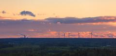 Far away horizon (KariFinland) Tags: 5dmk2 70200mm landscape horizon factory kaukas windmills lappeenranta finland