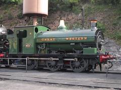 IMG_6261 - GWR Hudswell Clarke Saddle Tank 813 (SVREnthusiast) Tags: severnvalleyrailway svr severnvalley severn valley railway gwrhudswellclarkesaddletank813 gwr hudswellclarke saddletank 813