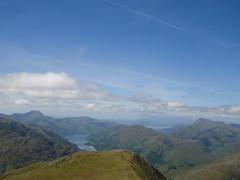 above Loch Hourn (Mr Trekker) Tags: lochhourn knoydart scotland scottishhighlands mountainscenery scotlandslochs scotlandsglens