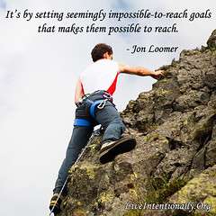 quote-liveintentionally-its-by-setting-seemingly-impossible (pdstein007) Tags: quote inspiration inspirationalquote carpediem liveintentionally