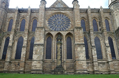 Durham Cathedral, east facade