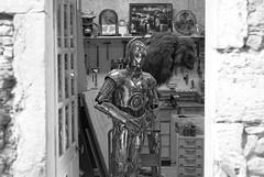 hello there, neighbors (Marek K. Misztal) Tags: muséeminiatureetcinéma lyon alien starwars c3po