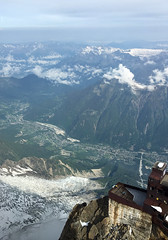 Alps Trip 1101m (mary2678) Tags: aiguille du midi chamonix france europe honeymoon mont blanc french alps mountain mountains sky cloud clouds snow view peak rick steves myway way alpine tour