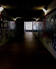 go back (lucreziamarcattilj) Tags: escape nolight alone dark graffiti murales creepy