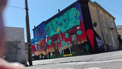 Animali da cantiere. (tonitonim) Tags: casa house streetart urbanart art arte colore colors wall muro murales murale muralism undicisei squad tonim tonitonim paul01 gg hadmar animali animals nature smog mutants paint sardegna sardaigne sardigna sangavinomonreale