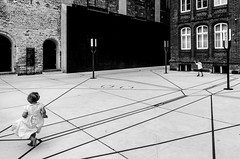 _DSC9858-2 (durr-architect) Tags: lübeck germany historic architecture arch church city river water building european hanse museum modern concrete people