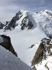Alps Trip 1134m (mary2678) Tags: aiguille du midi chamonix europe honeymoon mont blanc mountain mountains sky cloud clouds snow rick steves myway way alpine tour french alps
